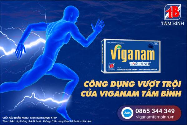 công dụng của Viganam Tâm Bình