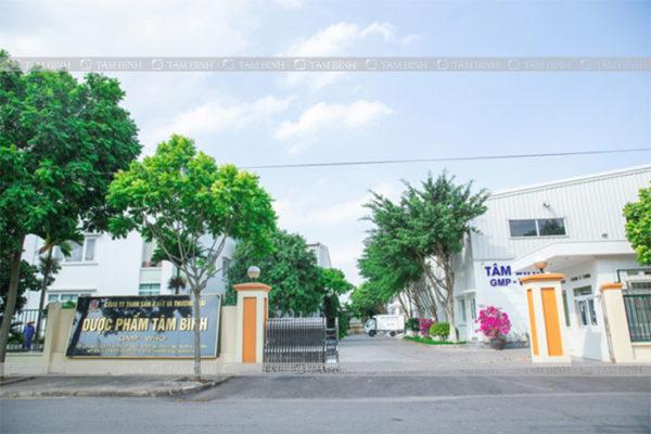nhà máy dược phẩm Tâm Bình