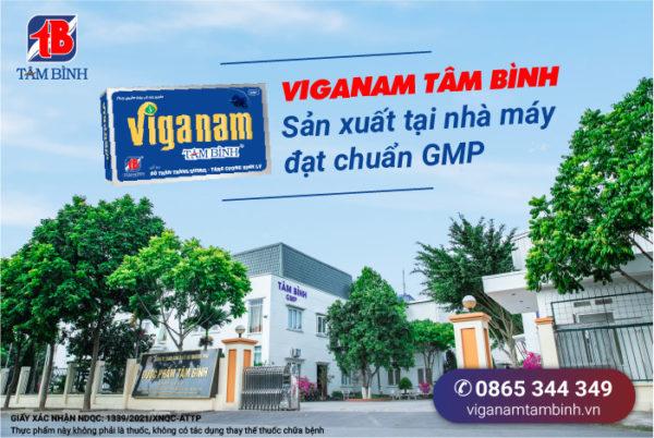 nhà máy sản xuất Viganam tâm Bình