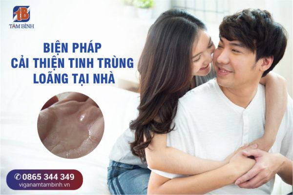 biện pháp cải thiện chất lượng tinh trùng tại nhà
